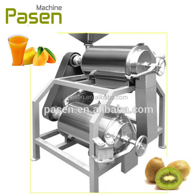 Fruit And Vegetable Pulp Press Machine / Fruit Paste Beating Machine