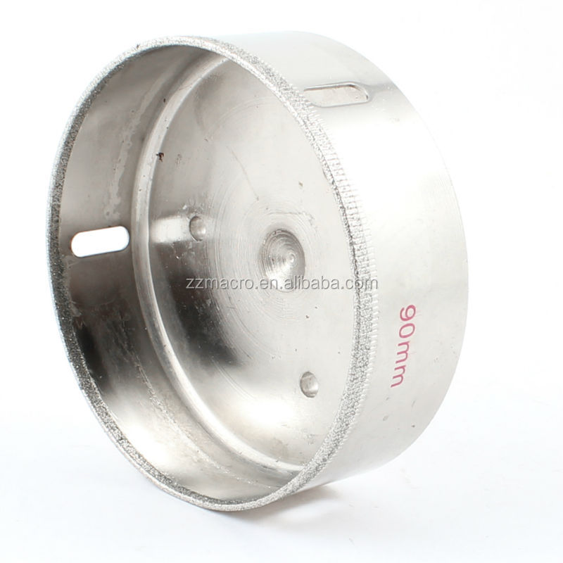 competitive price 75 mm hole saw bit for porcelain&ceramic , glass drilling