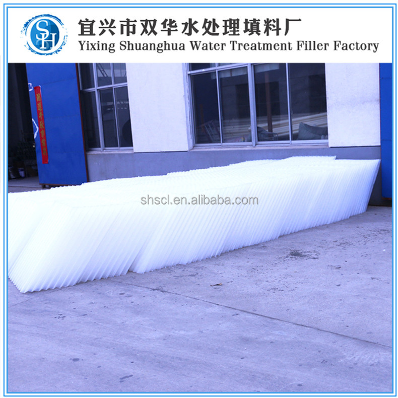 SH variety of precipitation and sand removing use hexagonal honeycomb packing water treatment water treatment packing