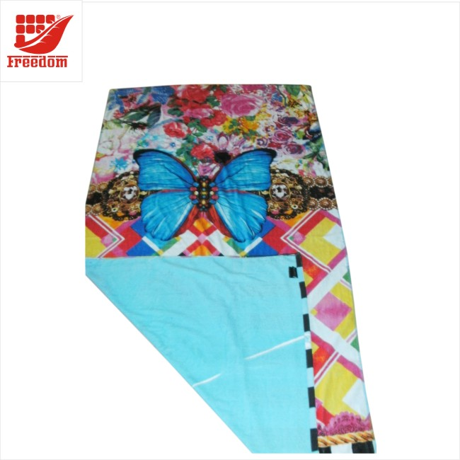 Full Color Reactive Printing 100% Cotton Beach Towels