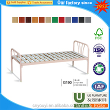 High quality commercial furniture and school dormitory metal steel bunk beds with cheap bunk beds for dormitory bed