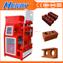 Germany technology siemens motor hot sale automatic block maker machine, soil clay brick making machines in uganda