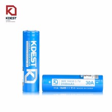 High Capacity 3500mah Kdest 18650 3.7v Battery PK Sanyo ncr18650ga 18650 3500mAh