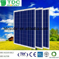 High efficiency 220w solar panel with TUV,IEC,CE certificate