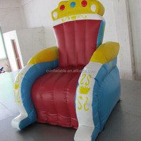 Inflatable King Queen Chair Inflatable Birthday