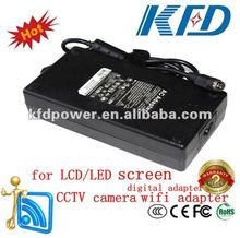 24V 8A 192W switching AC/DC power supply for LCD/LED screen,CCTV security,wifi adapter digital adapter,printer