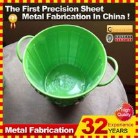 New 2014 indoor/outdoor High Quality fancy iron flower pot stand by manufacturing OEM