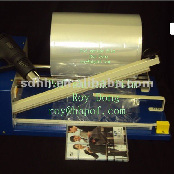 19 Mic pof tube shrink wrap film