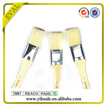 Polished wooden handle indusrtrial painting brush