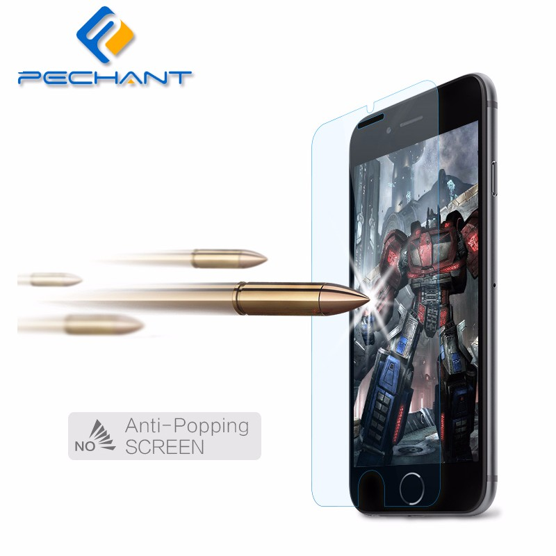 0.33mm for iphone 7 Plus 6 5s front screen protector glass tempered