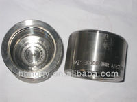 Threaded cap carbon steel pipe fittings