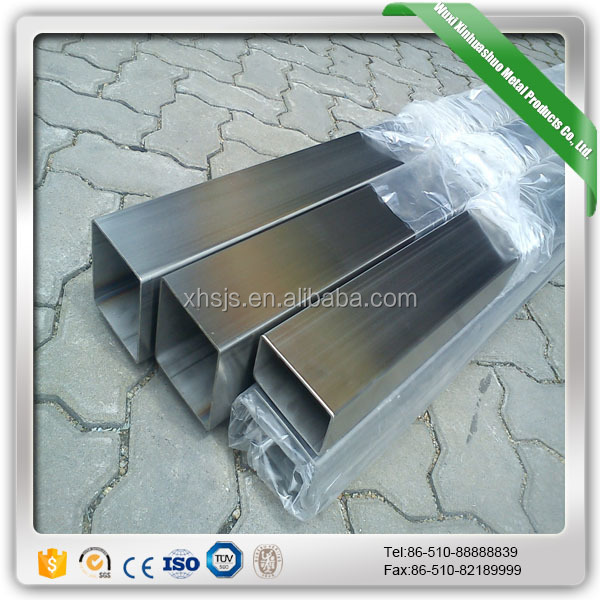 Hollow Section Rectangular 304 304l Stainless Steel Pipe Price Per Ton