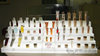 customized acrylic cosmetic display skin care products lucite organizer