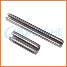 China fastener slotted spring pin
