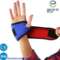 New Sports Fashion Palm Wrist Thumb Hand Wrap Support Brace Glove Elastic Gym Protector