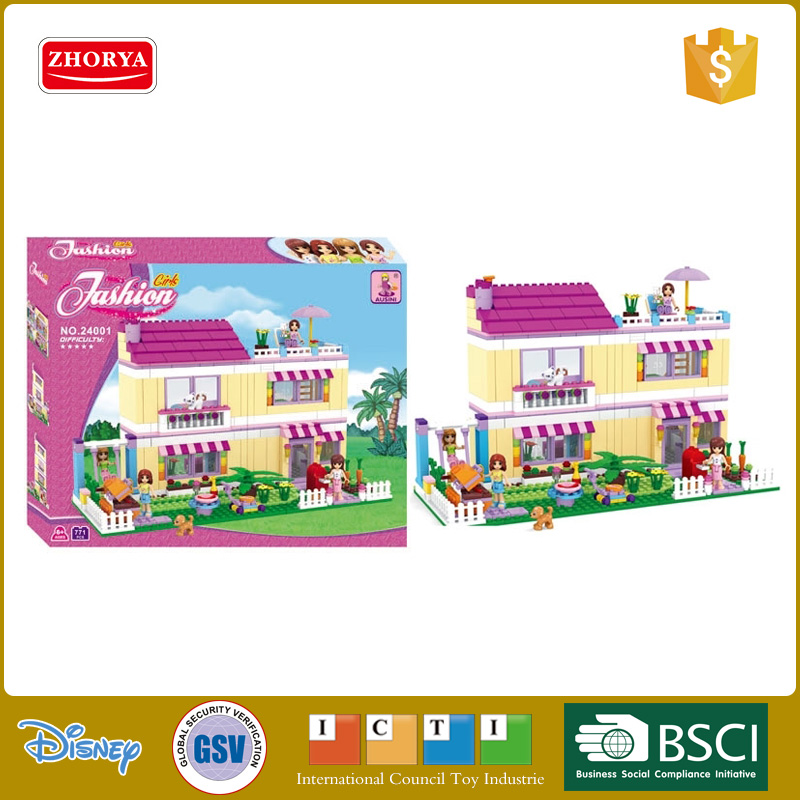 Ausini construction bricks house kids building block toy