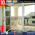 High quality for exit aluminium double glazed Emergency escape glass door
