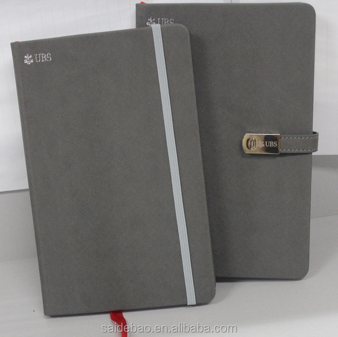 2018 popular USD notebooks with ribbons and buttons