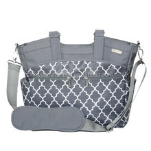 easy clean polyester tote shoulder yummy mummy bag