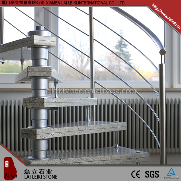 nice G603 3+3 granite polished folding stairs