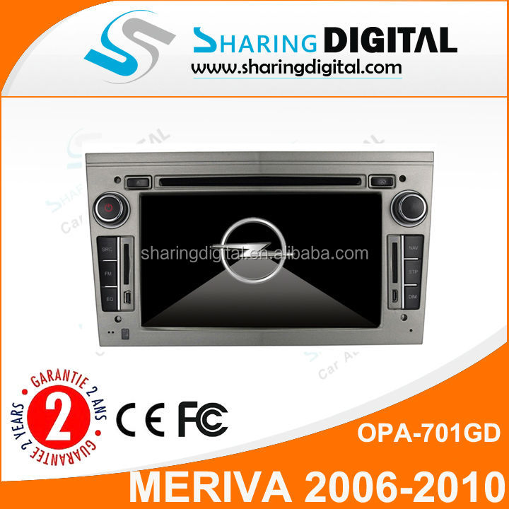 OPA-701GD with Digital Screen/DVD/GPS/bluetooth phonebook opel meriva car dvd car radio