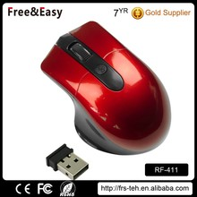 High Quality 4D Wireless Ergonomic Gaming Mouse with Adjustable DPI