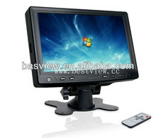 2013NEW ! 7 inches tft lcd touch monitor
