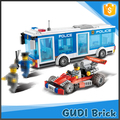 248 PCS hot promotional police station toy plastic building block toy for preschool
