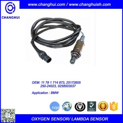High Quality Auto Oxygen Sensor/ Lambda Sensor 11 78 1 714 873/ 25172605/ 250-24023/ 0258003037 for BMW