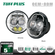 Factory price 5 inch round motorcycle headlight