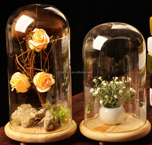 Wholese Fashion Design and High Quality Glass Cloche Bell Jar