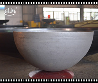 high quality carbon steel with sand blasting hemisphere head