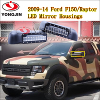 1set of side mirror cover for 2009-2014 F ord F150/Raptor truck