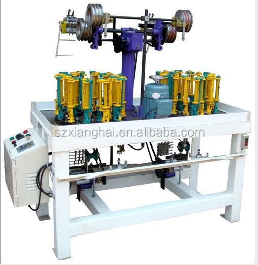 90 series high speed Flat Belt Braiding Machine/narrow tape braider