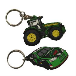 Customized Motorcycle digital photo keyring Parts BJO-K001