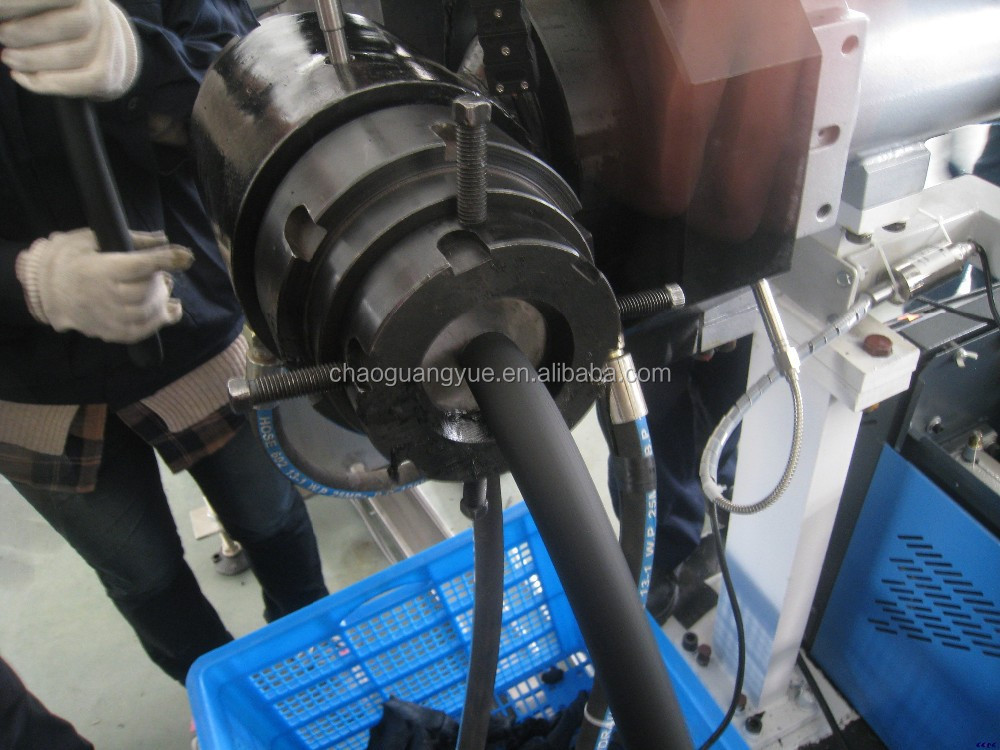 rubber soaker hose making extruder machine /brake tube machine