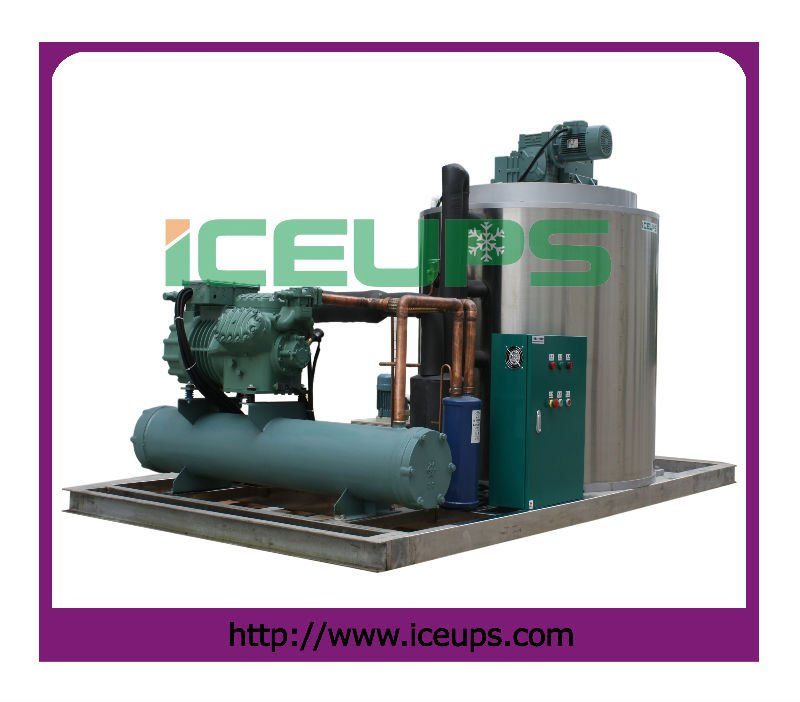 Flake ice machine, industrial ice making machine (12ton/24hours)