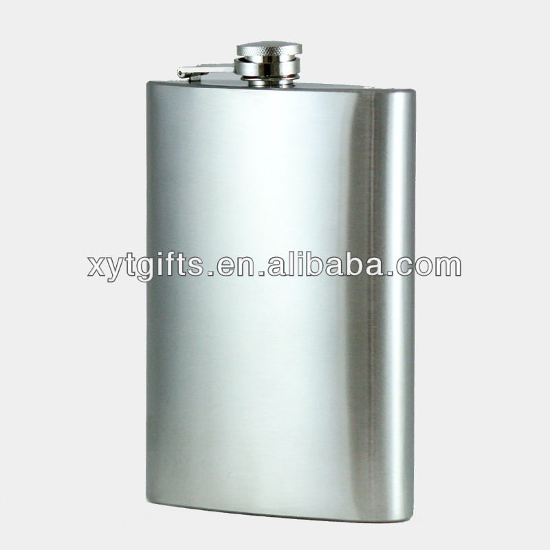 Hair of the Dog Polished Hip Flask
