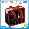 Two color two sides silk printing eco promotional recycle pp non woven shopping bags