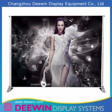 Strengthen Portable Tension Fabric Backdrop Wall Display Stand with Graphic Changed Easily