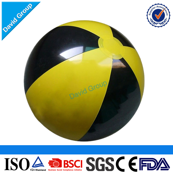 Certified Top Supplier Promotional Wholesale Custom Inflatable Smiley Beach Ball