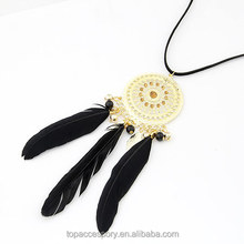 TNC61023-36 Bohemia Vintage Charms Crystal Bead Pearl Necklaces Pendants Women Jewelry Bijuterias