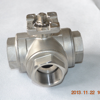 3 way water tank float ball valve by thread connection