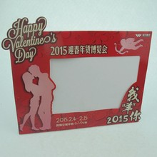 latest design funny digital Soft pvc picture frames/cardboard paper photo frame
