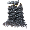 10A Grade virgin indian remy loose weave raw virgin human hair from very young girls unprocessed virgin double drawn hair