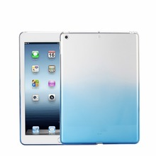 Ultra thin Gradient Color soft TPU tablet case For iPad mini 2 3 4 Air 1 Pro 9.7 12.9