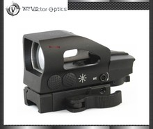 Vector Optics Ratchet 1x23x34 Red Green Dot Scope 4 Reticle Sight with QD Picatinny Mount for M4 AK .223 Rem 5.56 M series