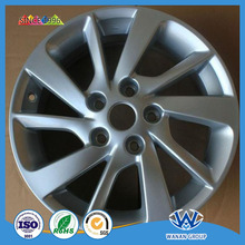 Automobile hub powder coating
