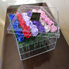 Clear Square Gift Acrylic Flower Box