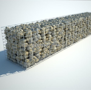 Best price 50x50 gabion basket welded gabion box for retaining walls